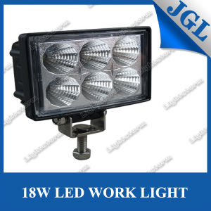 "18W LED Working Lamps Used Car Motorcycle LED Work Light 4X4 Accessory with 10-30V 5"" off Road LED Spotlights for Auto Part"