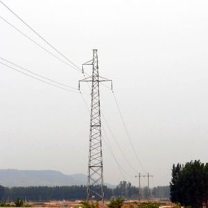 35kv Power Transmission Single Circuit Angle Steel Tower pictures & photos