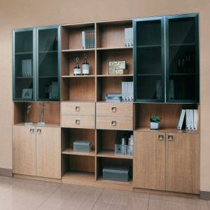 Oppein Tuscan Elegant Melamine Wood Book Shelf (SG21134A276) pictures & photos