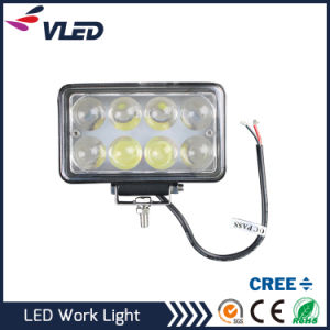 24W Spotlight LED Work Light Square Fog Driving DRL Offroad SUV pictures & photos