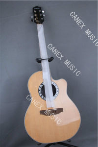 Acoustic Electric Guitar / Poplar Grade Acoustic Guitar (CMAG-121C-41) pictures & photos