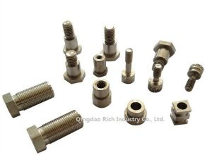 Stainless Steel/Copper/Aluminum Screw Machining Turned Parts/ Turning Spare Parts CNC Precision Machining/ Machinery Part/Nut/Bolts/Screw/Hardware pictures & photos