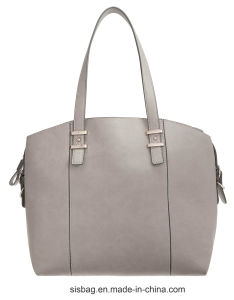 Designer PU Soft Shoulder Bag High Capacity Women Shopping Bag pictures & photos