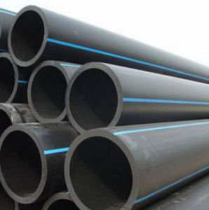Pn16 200mm Black Pipe for Water Supply HDPE Tube pictures & photos