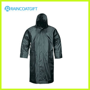 100% Polyester Men′s Rainwear (RVC-131) pictures & photos