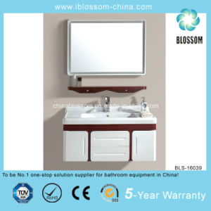 PVC Bathroom Vanity Cabinet (BLS-16039) pictures & photos