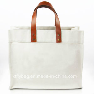 Eco-Friendly Canvas Hand Bag Recycled Bag Tote Bags pictures & photos