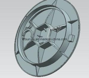 Medium Duty Round Shape Ductile Iron Manhole Covers