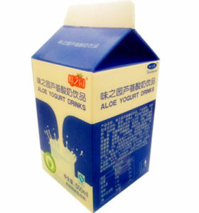 500ml Aloe Yoghurt Drinks Carton 6-Layer pictures & photos