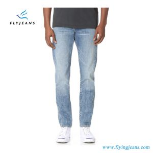 Tapered Standard Issue Jeans Straight Men Denim with Classic Stonewashed (Pants E. P. 4119) pictures & photos