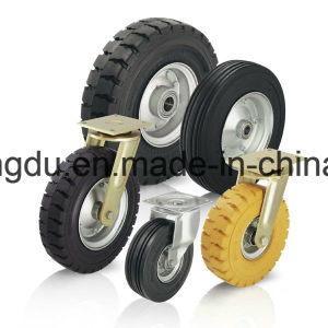 8 Inches Pneumatic Heavy Duty Rigid Caster pictures & photos