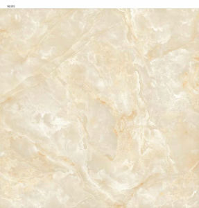 Light Khaki AA181 Full Polished Porcelain Tile pictures & photos