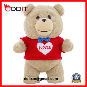 Red T-Shirt Love Teddy Bear Valentine Teddy Bear pictures & photos