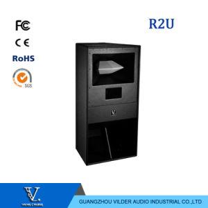 R2u Full Range Speaker 600W Single 15′′ Woofer Professional Speaker pictures & photos