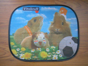 Custom Promotional Nylon Car Sunshade with Full Imprint pictures & photos