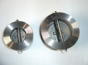 Spring Type Wafer Dual Plate Check Valve