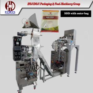 Ce Certificate Double Nylon Tea Bag Packaging Machine (DXDCH-10D+0uterenvelop) pictures & photos