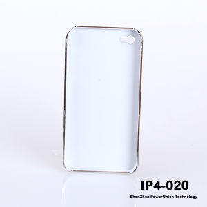 Mobile Phone Case PC+PU, New Style Stand Phone Case for iPhone 4 (IP4-020)