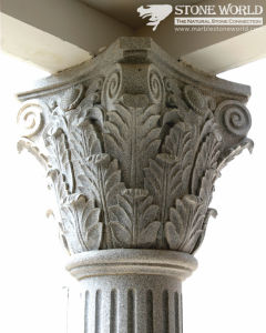 Granite Carving Capital for Columns (CV038) pictures & photos