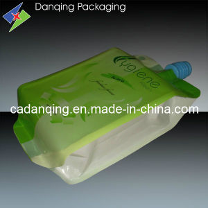 Plastic Packaging Side Gusset Detergent Pouch with Spout (DQ0211) pictures & photos