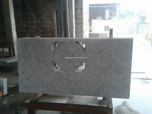 G655 Hazel White Granite Countertop for Kitchen pictures & photos