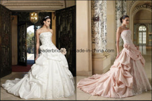 Sweetheart Wedding Bridal Dresses Lace Court Train Ball Gowns Z3002 pictures & photos