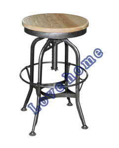 Industrial Metal Furniture Steel Turner Vintage Toledo Bar Stools pictures & photos