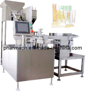 Zpp-40A Vitamim C Table Bottling Machine for Straight-Tube Bottles pictures & photos