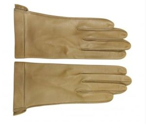 Ladies High Quality Leather Glove Inside Sewing (SW63)