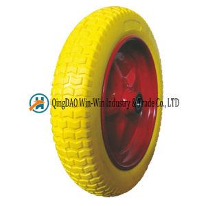 PU Foam Wheel Usde on Wheelbarrow Wheel (4.00-10) pictures & photos
