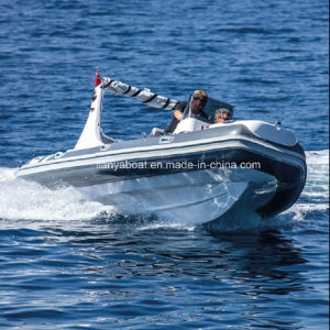 Liya 10 People PVC Inflatable Rubber Motor Boat for Sale pictures & photos