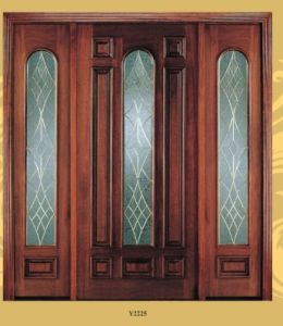 American Standard Entrance Glass Door for Villa pictures & photos