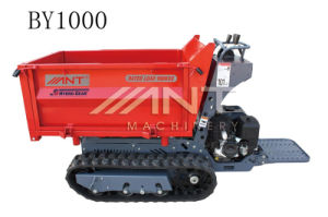 Mini Dumper By1000 for Sale with Gasoline Engine pictures & photos