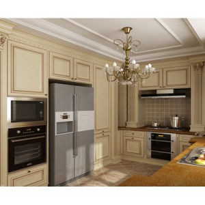 Classic European Solid Wood Kitchen Cabinets (Calliope) pictures & photos