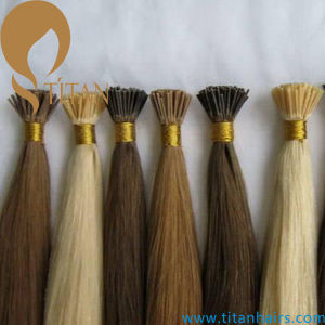 Human Remy Hair Keratin Stick I Tip Hair Extension (TT369) pictures & photos