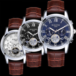 Mens Multi-Function Wristwatch with 3eyes on Dial 6hands pictures & photos