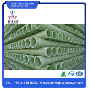 FRP Fiberglass Cable Protection Pipe, GRP Extruded Pipe pictures & photos