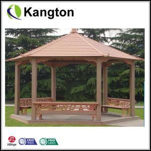 Wood Plastic Composite Decking (SGS, FSC, CE, EU standard) pictures & photos