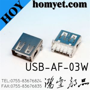 USB Jack for Electric Accessories (USB-AF-03W) pictures & photos