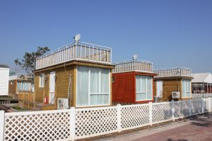 Shipping Modular Living Prefabricated Container House pictures & photos