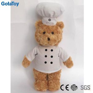 Custom Plush Cook Teddy Bear Stuffed Plush Chef Bear Soft Toy pictures & photos