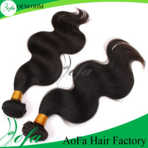 Top Quality Remy Virgin Hair Natural Human Hair Extension pictures & photos