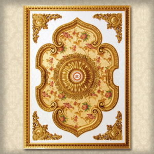 Luxurious Artistic Ceiling Lights, Ceiling Arts, Ceiling Tile, Retangle Medallion pictures & photos