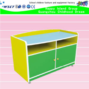 Kindergarten Kids Dormitory TV Table Wooden TV Table (HB-04106) pictures & photos