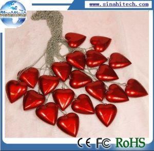 Red Heart USB Drive Memory Gift pictures & photos