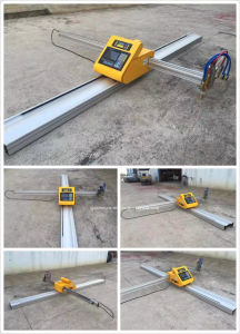 Portable Plasma and Flame Cutting Machine with Huayuan Power Source pictures & photos