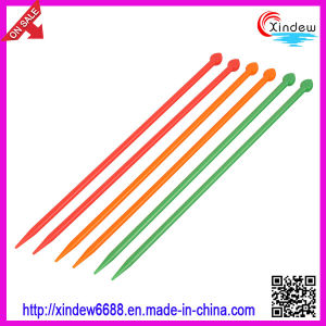 25cm Single Point Acrylic Knitting Needles (XDPK-001) pictures & photos