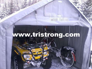 Tarpaulin Shelter, Cheap House Building, Small Portable Tent (TSU-250A) pictures & photos