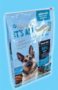 Plastic Slider Zipper Pouch, Pet Food Plastic Packaging pictures & photos