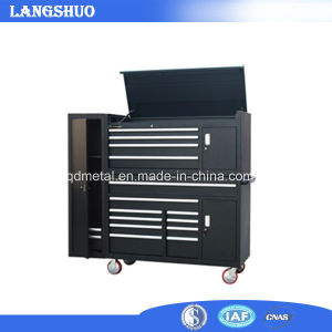 Professional Top and Bottom Two Parts Metal Tool Cabinet pictures & photos